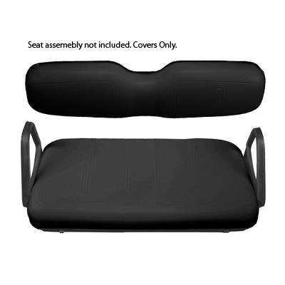 E-Z-Go Black Front Seat Cover Package