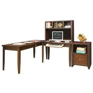 Urban Loft Writing Desk and Hutch in Mocha,Legends Furniture,LGDUL6209.MOC_UL6704.MOC_LP053112F