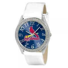 St Louis Cardinals MLB Glitz Feminine White Watch Bracelet - Womens Sports Fashion Jewelry at Amazon.com