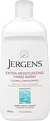 Jergens Extra Moisturizing Liquid Hand Wash, Soap Refill, 16 Ounce (Pack of 3)