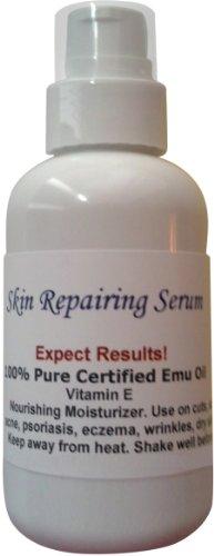 100% Pure Certified Moisturizing Skin Repairing Emu Oil Max/ 2 oz