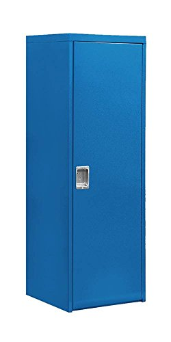 Salsbury Industries Welded Industrial Storage Cabinet with Single Door, 72-Inch High by 24-Inch Deep, Blue (Deep Storage Cabinet compare prices)