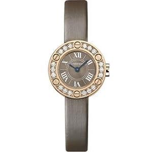 Cartier Love 18kt Rose Gold Ladies Watch WE801331