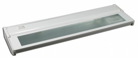 Images for American Lighting LXC2H-WH 16-Inch Hardwire Xenon Under Cabinet Light, 40 Watt, High/Low Switch, 120 Volt, White