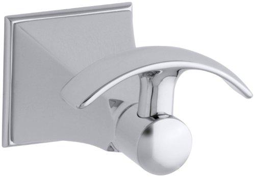 Kohler K 492 Cp Memoirs Robe Hook With Stately Design Polished Chrome Home Garden Bathroom