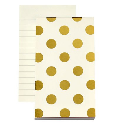 Kate Spade Small Notepad - Shiny Dots