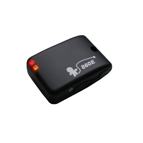 860E - mini Enregistreur de données GPS, 66 canaux, 125.000 waypoints, détecteur de mouvement, tres petit (22g), 1-5Hz
