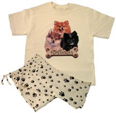 Buy Pomeranian Lounge Wear Set