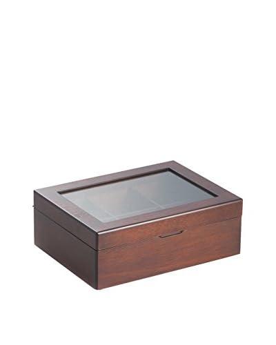 Bey-Berk Tea Box, Mahogany