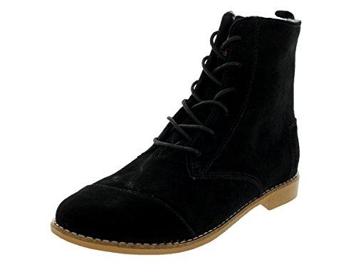 Women's TOMS 'Alpa' Boot Black Size 8.5 M