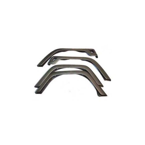 Rugged Ridge 11603.02 Factory Style Fender Flare Kit - 4 Pieces (Jeep Tj Fenders compare prices)