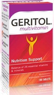 Geritol Multivitamin 100 Tablets