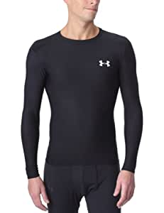 Under Armour Men's HeatGear® Compression Long Sleeve T-Shirt Small Black