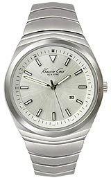 Kenneth Cole New York Bracelet Silver Dial Men's watch #KC9062