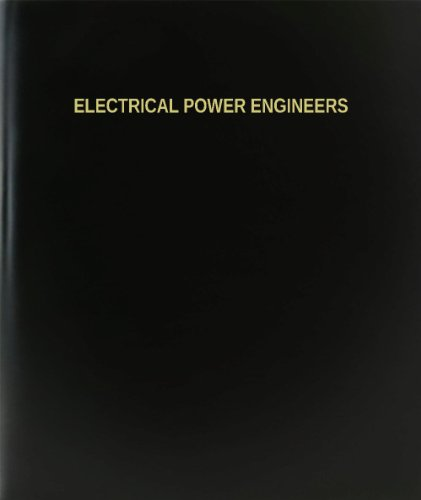 "Bookfactory® Electrical Power Engineers Log Book / Journal / Logbook - 120 Page, 8.5""X11"", Black Hardbound (Xlog-120-7Cs-A-L-Black(Electrical Power Engineers Log Book))"