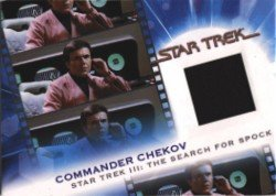 Complete Star Trek Movies MC13 Commander Chekov Costume Card #679 Black Variant