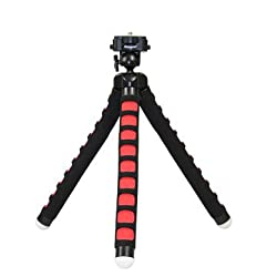 Original Fotopro RM-100 Universal Octopus Tripod Holder Bracket For Cellphone Tablet Camera-Black Red