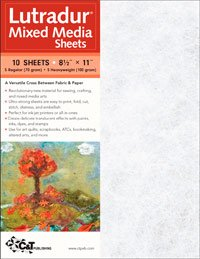 Lutradur Mixed Media Sheet 10-Pack