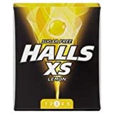 Halls XS Lemon Sugar Free (box of 16)