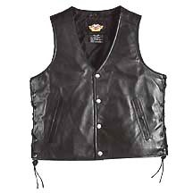 Harley Davidson Mens Pathway Leather Vest, designed for those who follow their own path. Lightweight leather for comfort. Zippered sleeves. Action back. Side lacing. Snap front. Two front pockets with snap closure. No-nonsense styling that's always ready to go, 98103-02VM - Buy Harley Davidson Mens Pathway Leather Vest, designed for those who follow their own path. Lightweight leather for comfort. Zippered sleeves. Action back. Side lacing. Snap front. Two front pockets with snap closure. No-nonsense styling that's always ready to go, 98103-02VM - Purchase Harley Davidson Mens Pathway Leather Vest, designed for those who follow their own path. Lightweight leather for comfort. Zippered sleeves. Action back. Side lacing. Snap front. Two front pockets with snap closure. No-nonsense styling that's always ready to go, 98103-02VM (Harley Davidson Vests, Harley Davidson Vests Vests, Harley Davidson Vests Mens Vests, Apparel, Departments, Men, Outerwear, Mens Outerwear, Vests, Mens Vests)