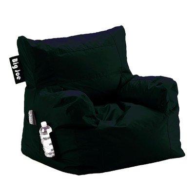Big Joe Dorm Chair, Limo Black front-294607