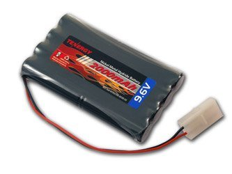 Made With 8Xaa 2000Mah Tenergy High Capacity And High Power Nimh Batteries - Tenergy 9.6V 2000mAh NiMH High Capacity Battery Pack for RC Car, Robots, Security
