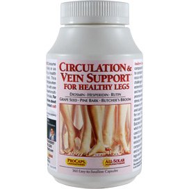 Circulation & Vein Support For Healthy Legs 60 Capsules