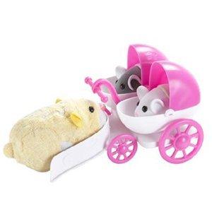 Zhu Zhu Pet Hamster Deluxe Accessories: Baby Hamster Stroller front-372887
