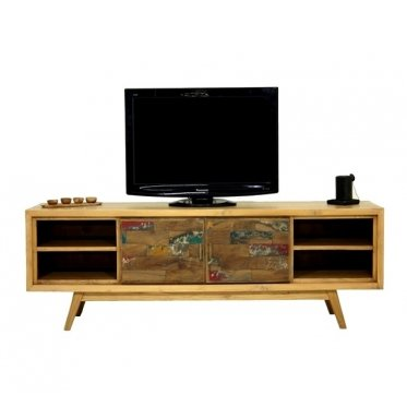 Mobile TV, 180 cm, legno scandinavo