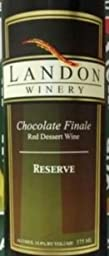 NV Landon Winery Chocolate Finale 375 mL