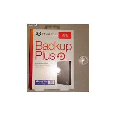Seagate Backup Plus Slim STDR4000300 4TB Portable External Hard Drive (Silver)