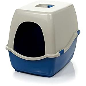 Amazoncom petco extra large enclosed litter box x large for Dog litter box petco