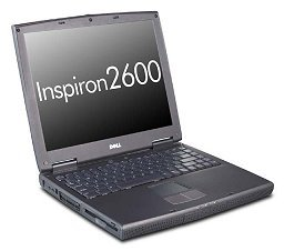 Dell Inspiron 2600 Laptop Computer with Intel Cerelon 1.133GHZ, 320MB of RAM, 30GB Hard Drive, WIN XP