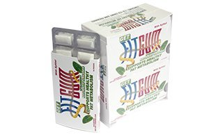 Fitgum Functional chewing gum 1Box-12 sleeves - 120 pieces/box, Diabetic Safe, Sugar Free appetite suppresant, blood sugar regulation and elevate metabolism
