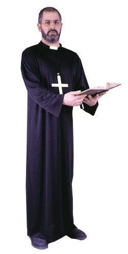 FunWorld Adult Priest Costume