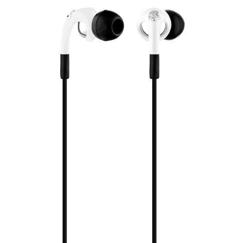 Skullcandy Fix In Ear Buds White/Chrome W/ Mic3