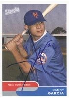 Danny Garcia Norfolk Tides - Mets Affiliate 2004 Bazooka Autographed Hand Signed... by Hall of Fame Memorabilia