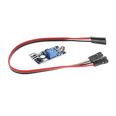 Zcl Photodiode Brightness Sensor Module W/ Indicators - Blue
