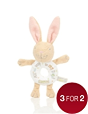 Guess How Much I Love You Bunny Grab Rattle Toy