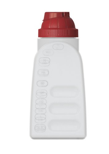 United Solutions Fs9039 Six Pack Bpa-Free Plastic One Quart Refrigerator Bottle With Lid - 1Qt Plastic Refrigerator Bottle And Lid 6 Pack front-257576