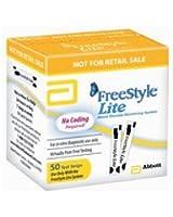 【血糖測定器 フリースタイルライト】 フリースタイル専用センサー試験紙(50枚)