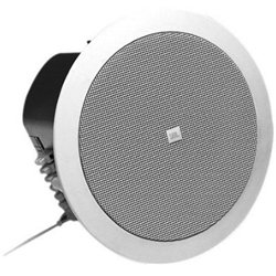 "Jbl Control 24Ct Micro 2-Way Vented Ceiling Speaker Built-In Transformer, 4"" Woofer, Pair"