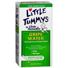 Little Remedies Gripe Water Herbal Supplement For Stomach Discomfort, Colic & Hiccups, 2 - 2Oz Bottles front-38475