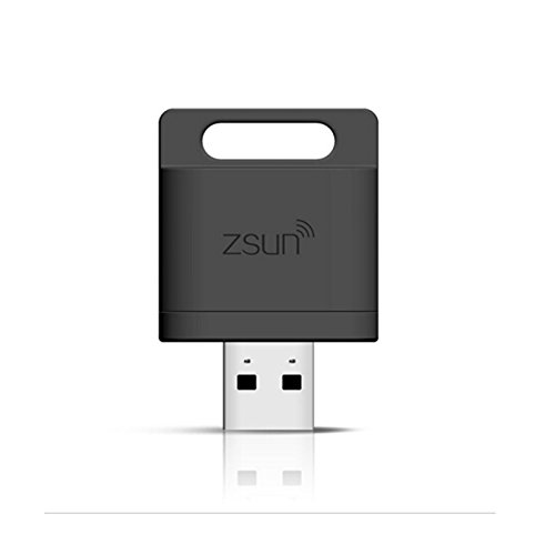 how to use zsun wifi card reader