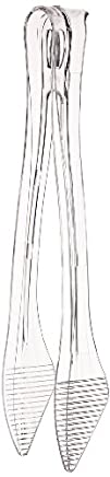 Classicware CTNG9 Tongs 9 Length Clear Case of 40