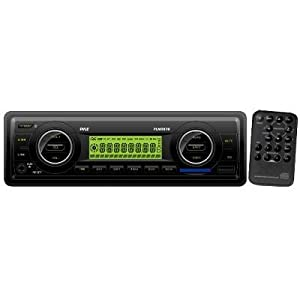 Pyle PLMR87WB Marine Flash Audio Player - 200 W RMS - Single DIN LCD Display - MP3 -... by Pyle