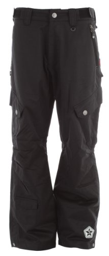 Sessions Men's Gridlock Shell Pant, Black, Large Sessions B003VGLJS2