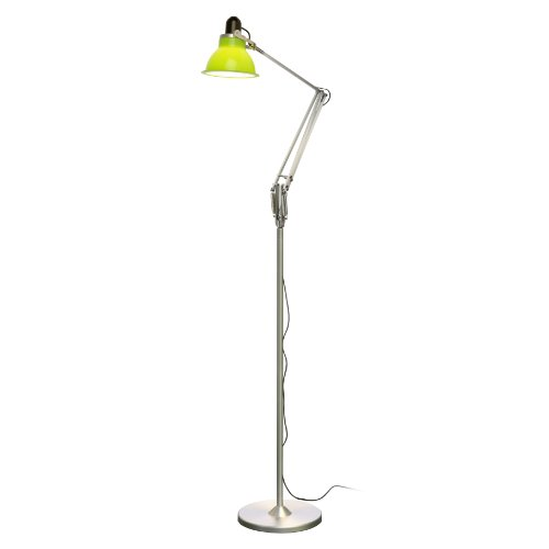 Anglepoise Type 1228 Floor Lamp, Lime Green Shade