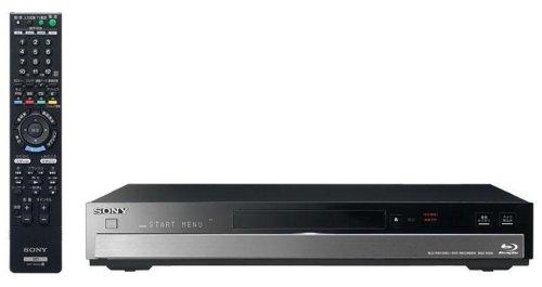 SONY デジタルハイビジョンチューナー内蔵HDD搭載ブルーレイディスクレコーダー HDD500GB BDZ-RX50