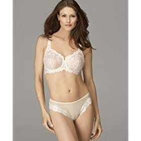 "Lunaire ""Sevilla"" Scroll Embroidered Demi Bra"